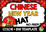 CHINESE NEW YEAR 2017 CRAFTS: ROOSTER HAT TEMPLATES (CHINE