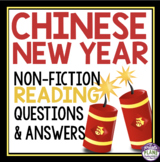 CHINESE NEW YEAR READING COMPREHENSION
