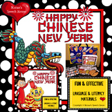 CHINESE NEW YEAR BUNDLE AAC/PECS CRAFTIVITY SPEECH THERAPY
