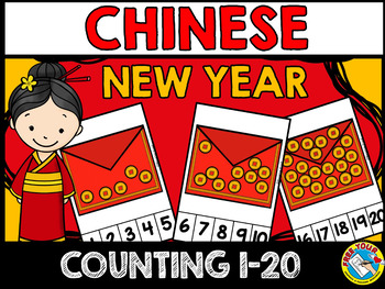 CHINESE NEW YEAR COUNTING CENTER (KINDERGARTEN COUNTING ACTIVITIES NUMBERS 1-20)