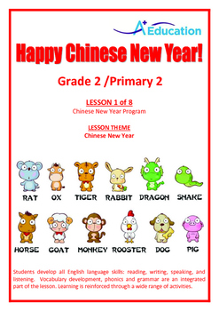 CHINESE NEW YEAR - Lesson 1 of 8 - Grade 2