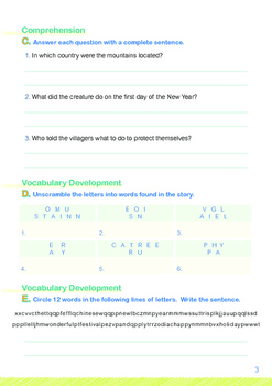 CHINESE NEW YEAR - Lesson 1 of 8 - Grades 3&4