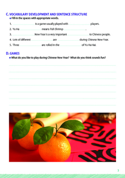 CHINESE NEW YEAR - Lesson 2 of 6 - Grades 5&6