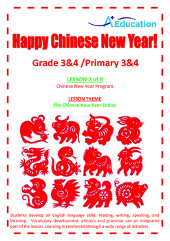 CHINESE NEW YEAR - Lesson 2 of 8 - Grades 3&4
