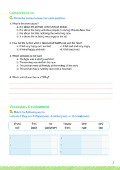 CHINESE NEW YEAR - Lesson 3 of 6 - Grades 5&6
