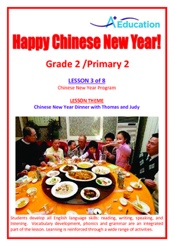 CHINESE NEW YEAR - Lesson 3 of 8 - Grade 2
