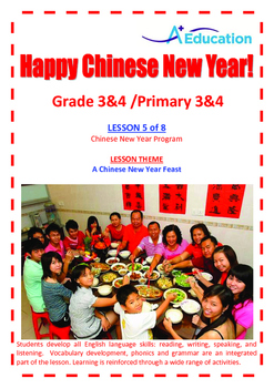 CHINESE NEW YEAR - Lesson 5 of 8 - Grades 3&4