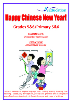 CHINESE NEW YEAR - Lesson 6 of 6 - Grades 5&6