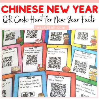 CHINESE NEW YEAR {QR CODE HUNT}