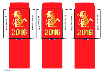 CHINESE NEW YEAR - RED MONEY PACKETS