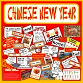 CHINESE NEW YEAR TEACHING RESOURCES FESTIVAL DISPLAY GEOGRAPHY CHINA LITERACY