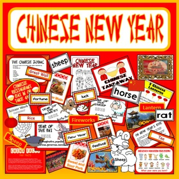 CHINESE NEW YEAR TEACHING RESOURCES FESTIVAL DISPLAY GEOGR