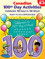 Canadian 100th Day Activities