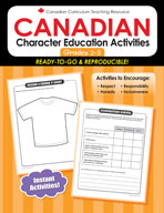 Canadian Character Ed Activities 2-3