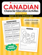 Canadian Character Ed Activities K-1