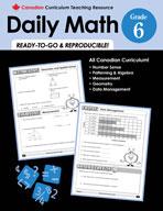 Canadian Daily Math Grade 6