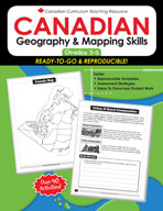 Canadian Geography and Mapping Skills 3-5