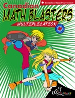 Canadian Math Blasters, Multiplication