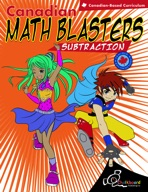 Canadian Math Blasters—Subtraction