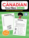 Canadian Time Fillers 2-3