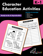 Character Education Activities K-1 (USA Version)