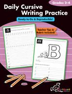 Daily Cursive Writing Practice 2-4 (USA Version)