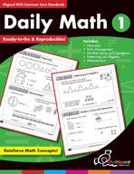 Daily Math Grade 1 (USA Version)