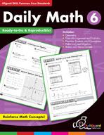 Daily Math Grade 6 (USA Version)