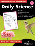 Daily Science: Grade 1 (Canadian Version)