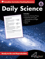 Daily Science: Grade 6 (Canadian Version)