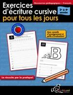 Exercices d'écriture cursive pour tous les jours 2-4