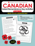 Instant Remembrance Day Activitites