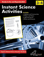 Instant Science Activities: Grades 3-4 (USA Version)