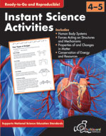 Instant Science Activities: Grades 4-5 (USA Version)