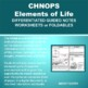 CHNOPS: Elements of Life, Element Cycles Foldable for INB