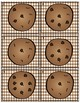 CHOCOLATE CHIP COUNTING CARDS  Counting 0-20 Task Cards Scoot FREEBIE!