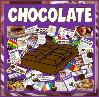 CHOCOLATE RESOURCES - GEOGRAPHY, HISTORY, SCIENCE, FOOD, E
