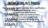 CHOICE-BASED LEARNING ART CURRICULUM