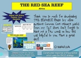 """CHOICE BOARD """"Africa, Red Sea Reef"""" Writing Center W 6.8"""