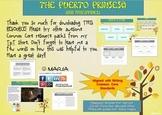"FREEBIE CHOICE BOARD ""Asia, Puerto Prinsesa"" Writing Center W 6.8"