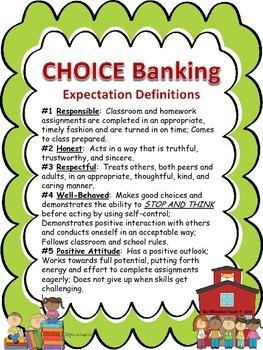 CHOICE Banking Poster