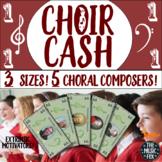 CHOIR CASH! Fun Extrinsic Motivators for Choir *3 Sizes, 5