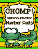 CHOMP! Addition and Subtraction Number Facts