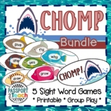 CHOMP! Dolch Sight Words Game Bundle