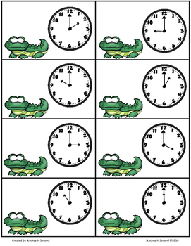 CHOMP! Telling Time