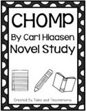 CHOMP written by Carl Hiaasen novel study for guided reading instruction