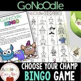CHOOSE YOUR CHAMP - GoNoodle Bingo