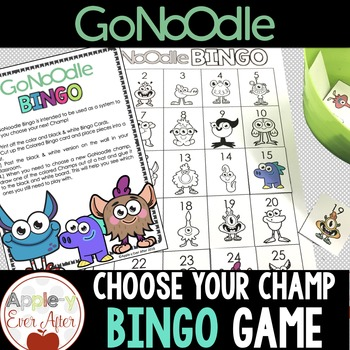 CHOOSE YOUR CHAMP - GoNoodle Bingo