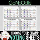 CHOOSE YOUR CHAMP - GoNoodle Champ Vote!