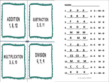 CHOOSING OPERATION TASK CARDS ASMD #3